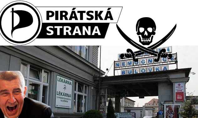 Česká Suverenita nesouhlasí s plánem na likvidaci Nemocnice Na Bulovce a snahou Pirátů a premiéra Babiše zjevně její pozemky rozprodat na milionářské byty.